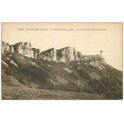 carte postale ancienne 73 CHAMBERY. Croix Mont Nivolet 1921