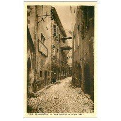 carte postale ancienne 73 CHAMBERY. Culte Antoiniste Rue Basse du Château