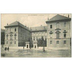 carte postale ancienne 73 CHAMBERY. Le Lycée 1916