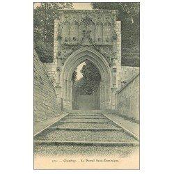 carte postale ancienne 73 CHAMBERY. Portail Saint-Dominique