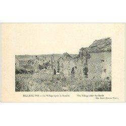 carte postale ancienne 02 BELLEAU. Le Village après la ataille