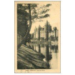 carte postale ancienne 56 JOSSELIN. Château 1930