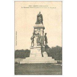 carte postale ancienne 56 SAINTE-ANNE-D'AURAY. Monument Comte de Chambord
