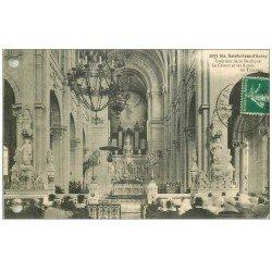 carte postale ancienne 56 SAINTE-ANNE-D'AURAY. Basilique. Orgues, Choeur et Autels