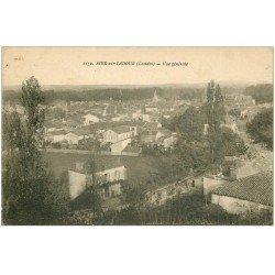 carte postale ancienne 40 AIRE-SUR-ADOUR. Vue générale 1923