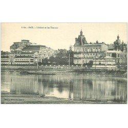 carte postale ancienne 40 DAX. Adour et Thermes