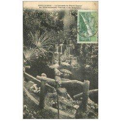 carte postale ancienne 40 DAX. Cascade Grand Geyser