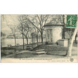 carte postale ancienne 40 DAX. Promenade des Baignots 1925