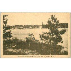 carte postale ancienne 40 HOSSEGOR. Le Lac 1936