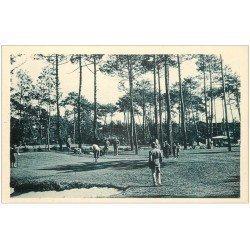 carte postale ancienne 40 HOSSEGOR. Parcours du Golf et Joueurs
