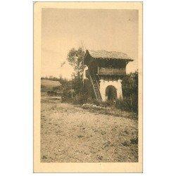 carte postale ancienne 40 LES LANDES. Maisonnette refuge de Chasseurs