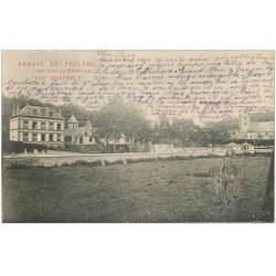 carte postale ancienne 27 ABBAYE DE THELEME vers 1903
