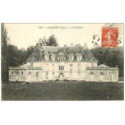 carte postale ancienne 27 ACQUIGNY. Le Château 1909
