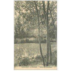 carte postale ancienne 27 BEAUMONT-LE-ROGER. Etang de Chantereine