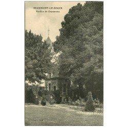 carte postale ancienne 27 BEAUMONT-LE-ROGER. Pavillon de Chantereine