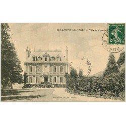 carte postale ancienne 27 BEAUMONT-LE-ROGER. Villa Marguerite 1908