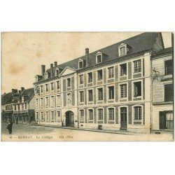 carte postale ancienne 27 BERNAY. Collège Fresnel 1915