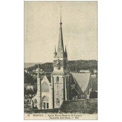 carte postale ancienne 27 BERNAY. Eglise Notre-Dame de Couture 12