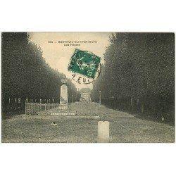 carte postale ancienne 27 BRETEUIL-SUR-ITON. Les Plesses 1910