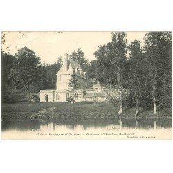 carte postale ancienne 27 CHATEAU D'HOULBEC COCHEREL 1906