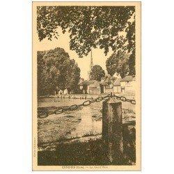 carte postale ancienne 27 CONCHES. La Grand'Mare