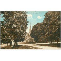 carte postale ancienne 27 CONCHES. Le Parc