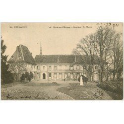 carte postale ancienne 27 CONCHES. Mairie 1903