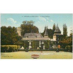 carte postale ancienne 27 CONDE-SUR-ITON. Château 2