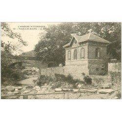 carte postale ancienne 07 VALS-LES-BAINS. La Volane 1911