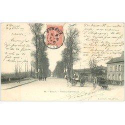 carte postale ancienne 27 EVREUX. Avenue de Cambolle 1903