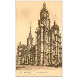 carte postale ancienne 27 EVREUX. Cathédrale 12