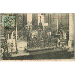 carte postale ancienne 27 EVREUX. Châsse Saint-Taurin 1906