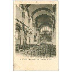 carte postale ancienne 27 EVREUX. Eglise Sacré-Coeur à Saint-Germain de Navarre