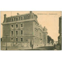 carte postale ancienne 27 EVREUX. Gendarmerie 1914