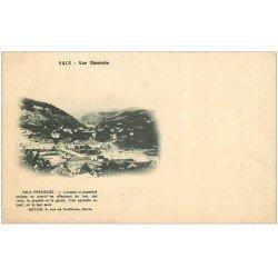 carte postale ancienne 07 VALS-LES-BAINS. Vals précieuse. Carte pionnière vers 1900