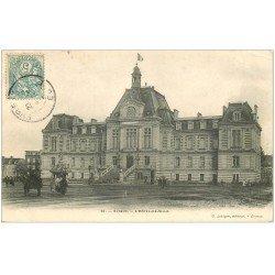 carte postale ancienne 27 EVREUX. Hôtel de Ville 1904