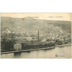 carte postale ancienne 08 BRAUX. Vue générale sur les Usines 1919