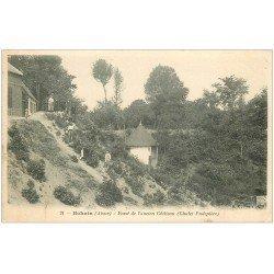 carte postale ancienne 02 BOHAIN. Fossé ancien Château 1908. Chalet Pudepièce