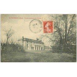 carte postale ancienne 27 LE VAUDREUIL. Le Château 1910