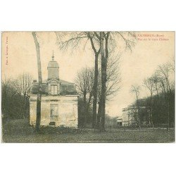 carte postale ancienne 27 LE VAUDREUIL. Vieux Château 1913