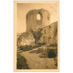 carte postale ancienne 27 LES ANDELYS. Château Gaillard Tour Donjon