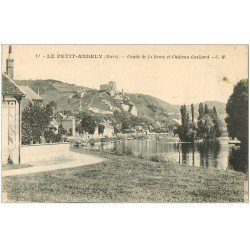 carte postale ancienne 27 LES ANDELYS. Coude Seine et Château Gaillard