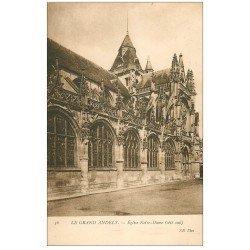 carte postale ancienne 27 LES ANDELYS. Eglise Notre-Dame 36