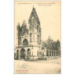 carte postale ancienne 27 LES ANDELYS. Eglise Notre-Dame 52