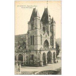 carte postale ancienne 27 LES ANDELYS. Eglise Notre-Dame Portail XIII siècle