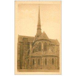 carte postale ancienne 27 LES ANDELYS. Eglise Saint-Sauveur Abside