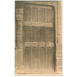 carte postale ancienne 27 LES ANDELYS. Hostellerie du Grand Cerf Porte Grande Salle