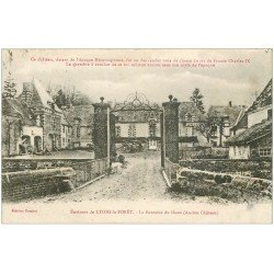 carte postale ancienne 27 LYONS-LA-FORÊT. Fontaine du Houx