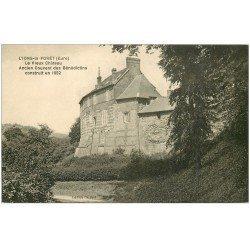 carte postale ancienne 27 LYONS-LA-FORET. Vieux Château