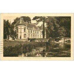carte postale ancienne 27 MARCILLY-SUR-EURE. Château de Breuil 1934